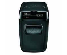Fellowes 4653601 AutoMax 200C Destructeur de Documents à Destruction Automatique 200 Feuilles Noir