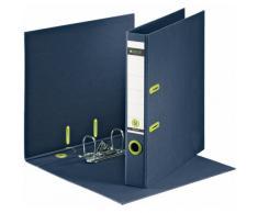 Leitz 10030069 Classeur à Levier en Carton Format A4 Dos de 50 mm 350 Feuilles - Bleu Foncé/Vert