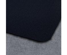 Tapis protège-sol casa pura® polypropylène noir | protége moquette et tapis | anti derapant | 2 tailles | 90x120cm