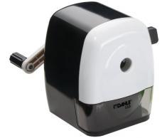 Dahle 00133-02036 Taille-crayon mécanique 133, pour crayons jusquà 11,5 mm de diamètre, avec étrier de fixation (Noir/blanc)