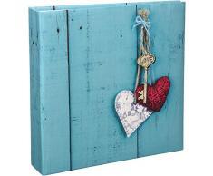 love key pour 200/photos au format 10/x/15/cm Hama Album m/émo Rustico