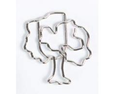 Lot de 11 trombones de bureau avec motif arbre, décoration ou marque-page Paperclip C025 Pince à courrier ou marque, pour bureau ou maison