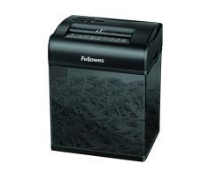 Fellowes 3700501 Mini Destructeur de documents Shredmate 4 feuilles Coupe Croisée - Détruit aussi agrafes et cartes de crédit