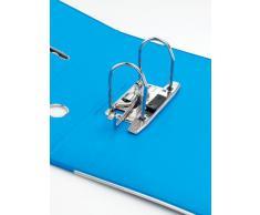 Rexel Joy Classeur à Levier avec 2 Anneaux 375 Feuilles A4 Bleu