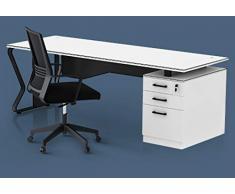 TOPREGAL Ensemble de salle détude de bureau, bureau complet avec chaise pivotante