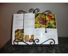 Lutrin Antique pour livre de cuisine 32x8x34cm