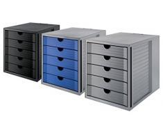 HAN 14508-13 SYSTEMBOX KARMA Module de classement 5 tiroirs Noir écologique