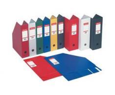 Esselte 56075 Boîte de Classement en PVC 100 mm Vivida Bleu