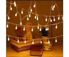 guirlande lumineuse boule acheter guirlandes lumineuses boule en ligne sur livingo. Black Bedroom Furniture Sets. Home Design Ideas