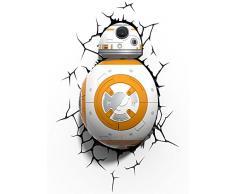 Star Wars BB-8 3D LED applique murale