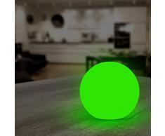 Jago - Éclairage d'Ambiance Lampe Boule Lumineuse LED Multicolore (Quantité au Choix)