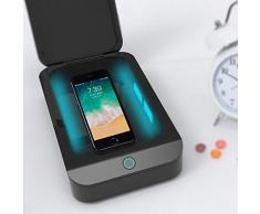 WBLin Boîte de stérilisation Domestique et désinfection à lozone avec Lampe Germicide ultraviolette Stérilisation UV stérilisation pour téléphone Portable, sous-vêtements, Masque