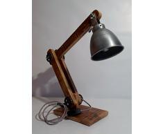 "Lampe Industrielle de Bureau ""Architecte"""