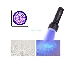 LOFTEK® 51 LED UV Lampe de Torche Ultra Violet Blacklight Flashlight , rétroéclairage, 395nm UV (Utlra Violet)