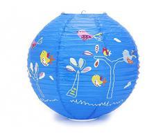 Un abat jour pour enfant color livingo - Boule japonaise enfant ...