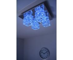 Plafonnier LED à changement de couleur et télécommande