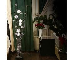 Lampadaire lampadaire den chambre minimaliste salon de la mode moderne fil d'aluminium vertical créative Lampe de table