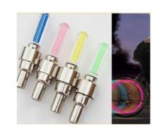 TOOGOO(R) 2PCS Tube au neon/feux/decor lampe LED de roues du velo pour le bicyclette