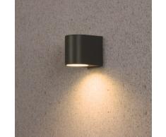 Applique murale Smartwares 5000.332 Bastia – LED – Aluminium