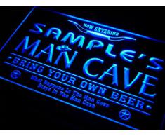 pb694-b Sebastian's Man Cave Cowboys Bar Neon Light Sign Lampe Enseigne Lumineuse
