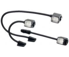 Hella 2AB 004 532-021 lampe de lecture montage en saillie avec prise pour emplacement allume-cigare et lampe halogène 12 V 5 W