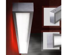 Applique murale en aluminium - luminaire intérieur - 100 x 10 x 5 cm