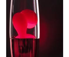 Lumo Lampe à lave Rouge