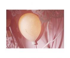 Lampe en forme de ballon gonflable blanc