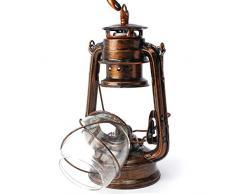 Larsure Vintage style industriel Lampe de Mur applique Lampe Murale applique murale lanterne rustique rétro éclairage mural Antique Lampe Murale Lampes de chevet pour le Corridor Restaurant Bar Vintage Light Outdoor, 40 x 18 cm (E27) or rétro