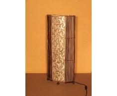 Lampadaire asiatique Penida White (LA12-64/WE), lampe design, lampe sur pied, lampe du sol, lampe à pied, lampe poétique, design decoratif, accessoires Bali