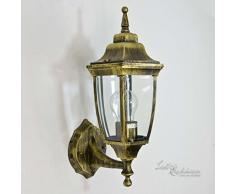 Rustique lampe murale dextérieur AntiqueLyon/Applique murale E2760W 230V IP44/dextérieur Lampe murale pour jardin et terrasse Porte Auvent