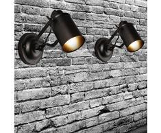 Applique murale rustique simple. Lampe murale pour loft, salon, chambre à coucher et couloir