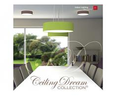 Plafonnier Smartwares Ceiling Dream - Gris - 40 cm