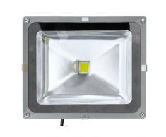 VISION-EL MIX771370 Projecteur extérieur LED Plastique 50 W Gris 23,2 X 28 X 14,5
