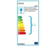 QAZQA Moderne / Rustique / Set de 2 Applique Murales Baleno I Gris Aluminium Cube / Carré / Rectangulaire / Compatible pour LED GU10 Max. 2 x 35 Watt / Extérieur / Salle de bain / Jardin / Luminaire /