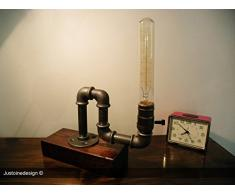 lampe de table Edison industrielle