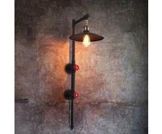 BAYCHEER Editon Tube Applique murale industrielle Éclairage Lampe Rétro Rob...