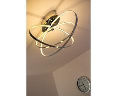 Plafonnier LED Ringos ovale 30 Watt - 1600 Lumen - 3000 Kelvin