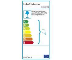 Applique rustique pour lextérieur en blanc E27 pour lextérieur Eclairage de la cour terrasse du jardin