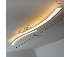 Plafonnier LED design Orgia 24 W 1800 lumens 3000 K lumière couleur blanc chaud [Classe energetica A+]