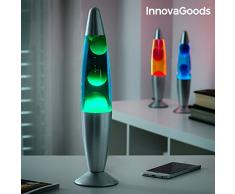 InnovaGoods Magma Lampe à lave rouge