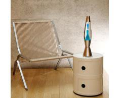 Mathmos Astrobaby Lampe à Lave - Transparent/Bleu