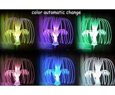 Kungfu Mall Lampe à lave de lumière la nuit commande vocale intelligente LED des graines d'arbres saints