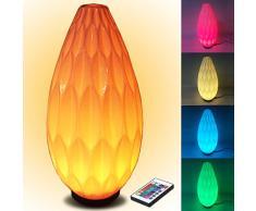 Éclairage à 360 ° lave l'atmosphère Lampe LED Lampe avec télécommande Changement de couleur RVB lampe nachtlicht Lampe d'ambiance avec/Protection Enfants, les femmes enceintes oeil/nuit Lampes de table Lampe de table LED