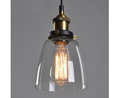 Retro Industrial Glass Ceiling Lamp Shade, verre abat-jour pour Light Lamp, rétro ombre de la lampe industrielle