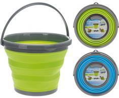 Seau pliant pliable silikoneimer campingeimer à eau 10 l