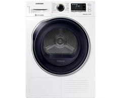 Sèche linge Condensation Samsung DV80M6210CW/EF - Pompe à chaleur - Chargement Frontal - Pompe à chaleur - Indicateur temps restant - 65 décibels