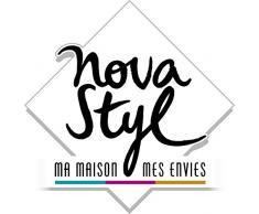 Novastyl 2249070 Lot de 6 Fourchettes Baguette Inox Gris 20,6 x 2,7 x 2,29 cm