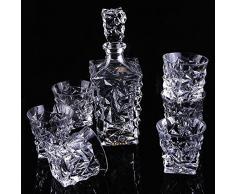 Bohemia Whisky Set cadeau en cristal Carafe + 6 verres