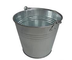 Beast-Tools Seau en tôle galvanisée 7 litres Pour décoration ou eau